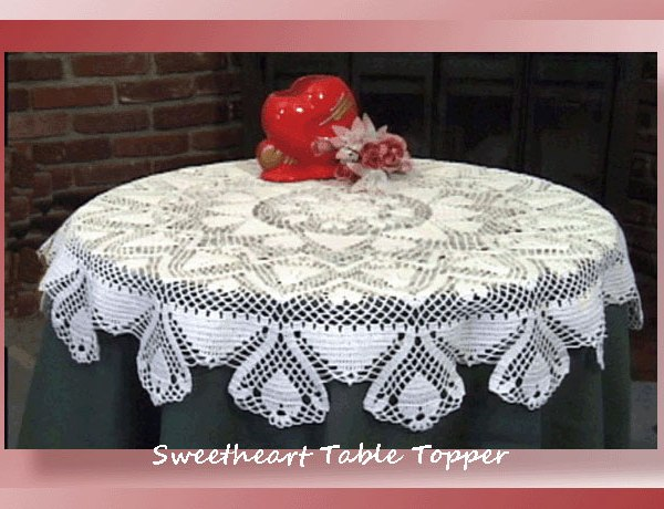 Sweetheart Table Topper