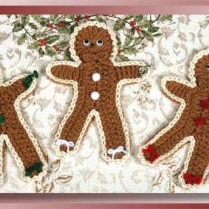 Iced Gingerbread Men Coasters