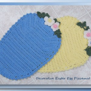 Decorative Easter Egg Placemat