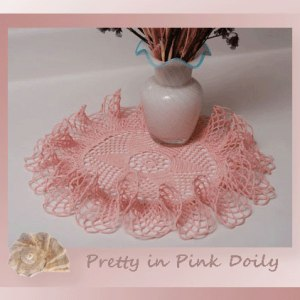 Pretty in Pink Doily