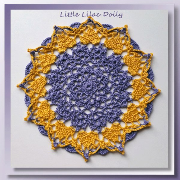 Little Lilac Doily
