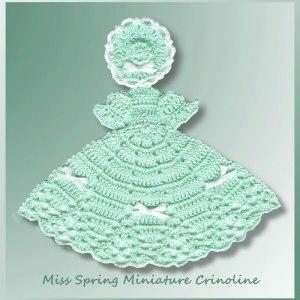 Miss Spring Miniature Crinoline