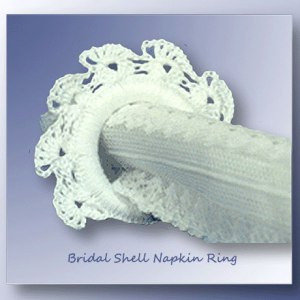 Bridal Shell Napkin Ring