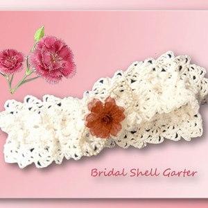 Bridal Shell Garter