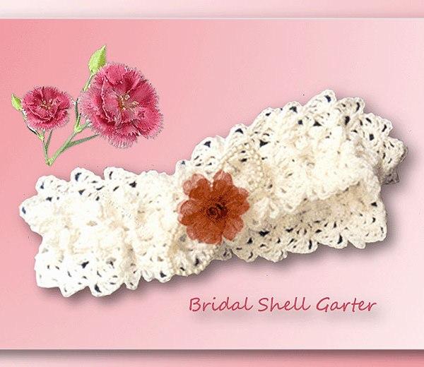 Bridal Shell Garter Crochet Bridal Patterns