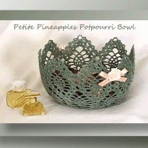 Petite Pineapples Potpourri Bowl