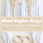 11 Free Crochet Napkin Ring Patterns Crochet Patterns