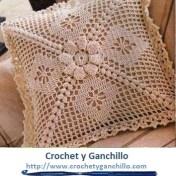 Almohadones tejidos al crochet