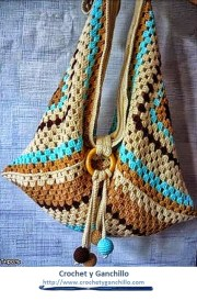 Bolsos de crochet.Un accesorio imprescindible para llevar en vacaciones