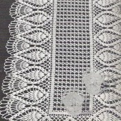 Camino para mesa a crochet2