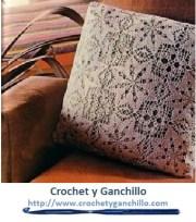 Cojines de crochet. Esquema gratis para tejer en crochet esta almohada