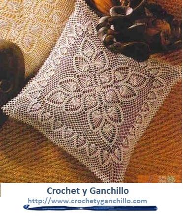 Cojines Tejidos Crochet Y Ganchillo