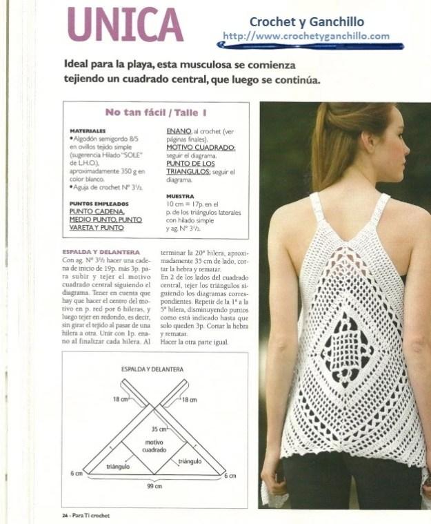 Remeras a crochet patrones1
