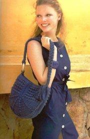 Bolsa crochet ovalada. Increíble bolsa tejida♥. Disfrute tejiendo
