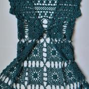 Patrón Bolero en Crochet