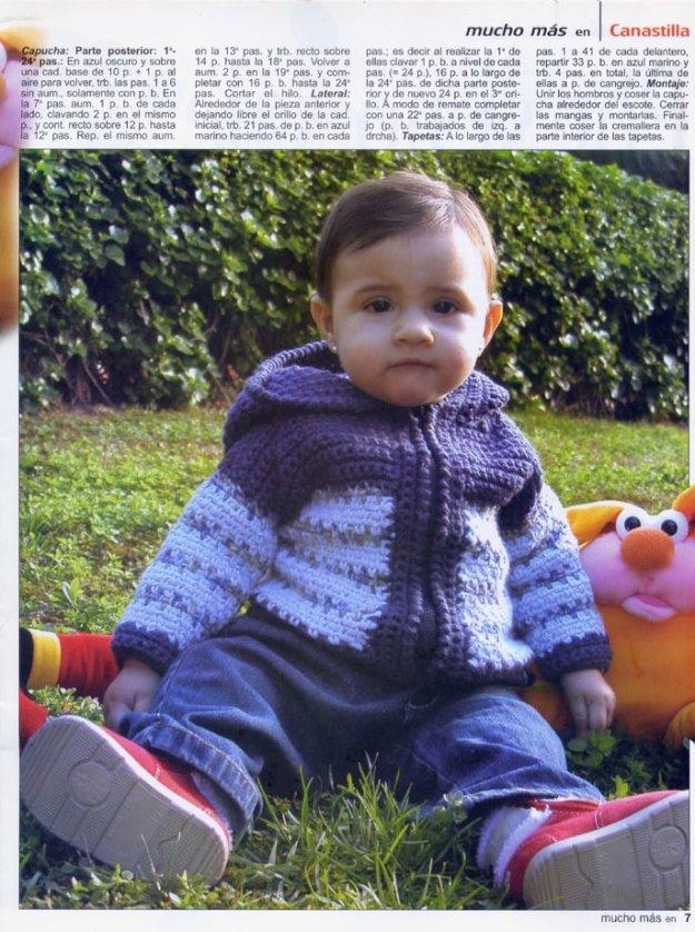 Patrones crochet gratis para bebes - Crochet y Ganchillo