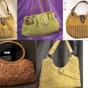 Colección esquemas bolsos a crochet