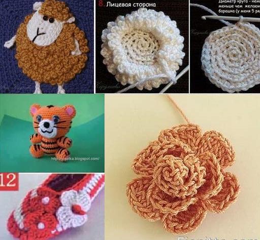 Crochet paso a paso en fotografías