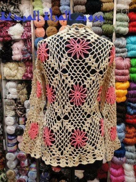 Chaleco crochet con grany1