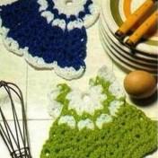 Adornos a crochet para cocina