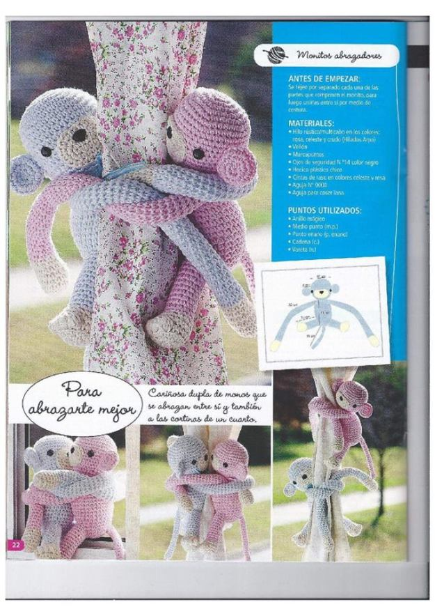 Adornos Para Cortinas Solo Arte Crochet Y Ganchillo - Adornos-para-cortinas