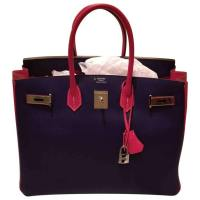 Multicolour Leather 35 Horseshoe Birkin Handbag