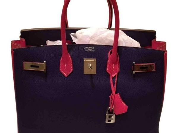 Leather Hermes Handbag