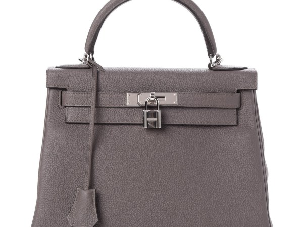 Kelly Bag 28 Hermes Togo Retourne