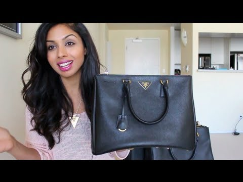 Handbag Review: Prada Saffiano Lux Tote and Cheaper Versions and GIVEAWAY!