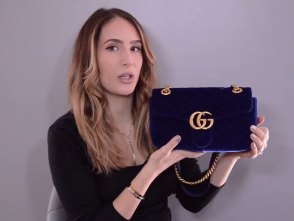 REVIEW : GUCCI VELVET MARMONT SMALL