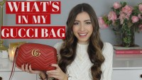 Red Gucci Marmont Shoulder Bag Review