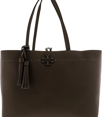 Tory Burch Pebbled Leather McGraw Tote Bag
