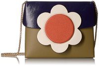 Orla Kiely Giant Flower Leather Sweet Pea Bag