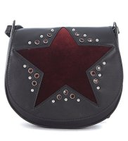 Orciani Women's Orciani Black Tumbled Leather Shoulder Bag