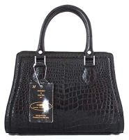 Authentic Crocodile Skin Tote With Strap Handbag
