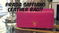 Prada Saffiano Wallet On Chain Review