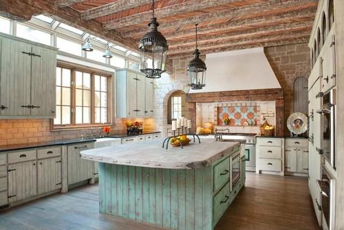 Mediterranean Kitchen By Dallas General Contractors Gage Homes Inc.