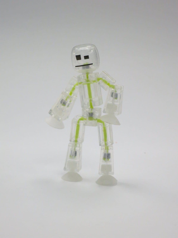 Toy Shed StikBot Studio Set OrangeWhiteClear