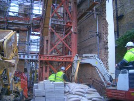 Temporary Works - Pembridge Place W2