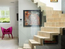 Chelsea SW3 Staircase to Roof
