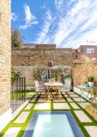 Roof terrace-Chelsea Conservation Area-SW3
