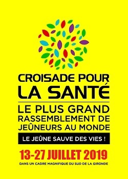 Logo 2019 croisade santé jeûne