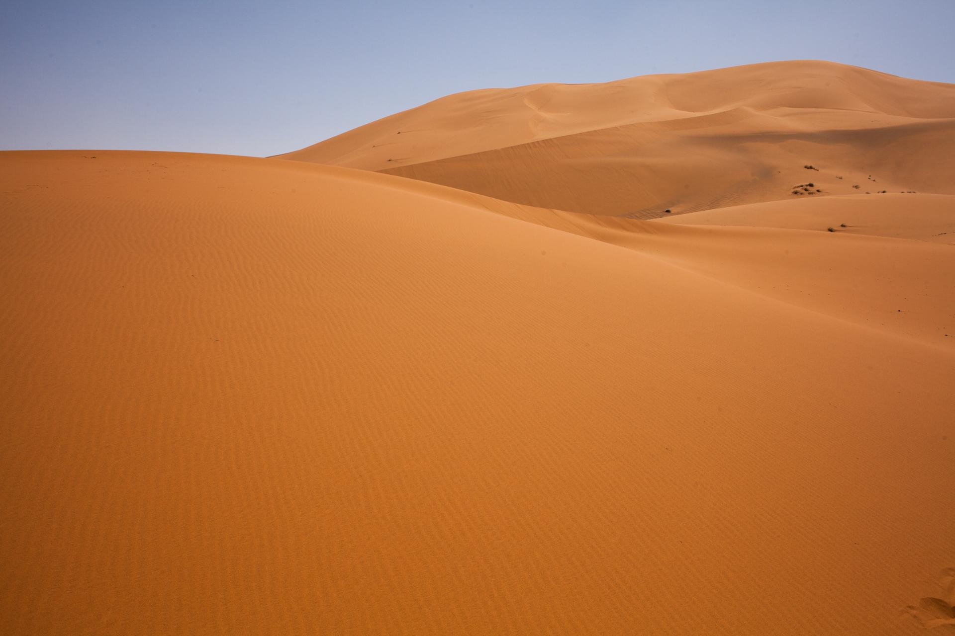 Just sand