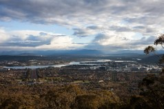 Canberra from above.