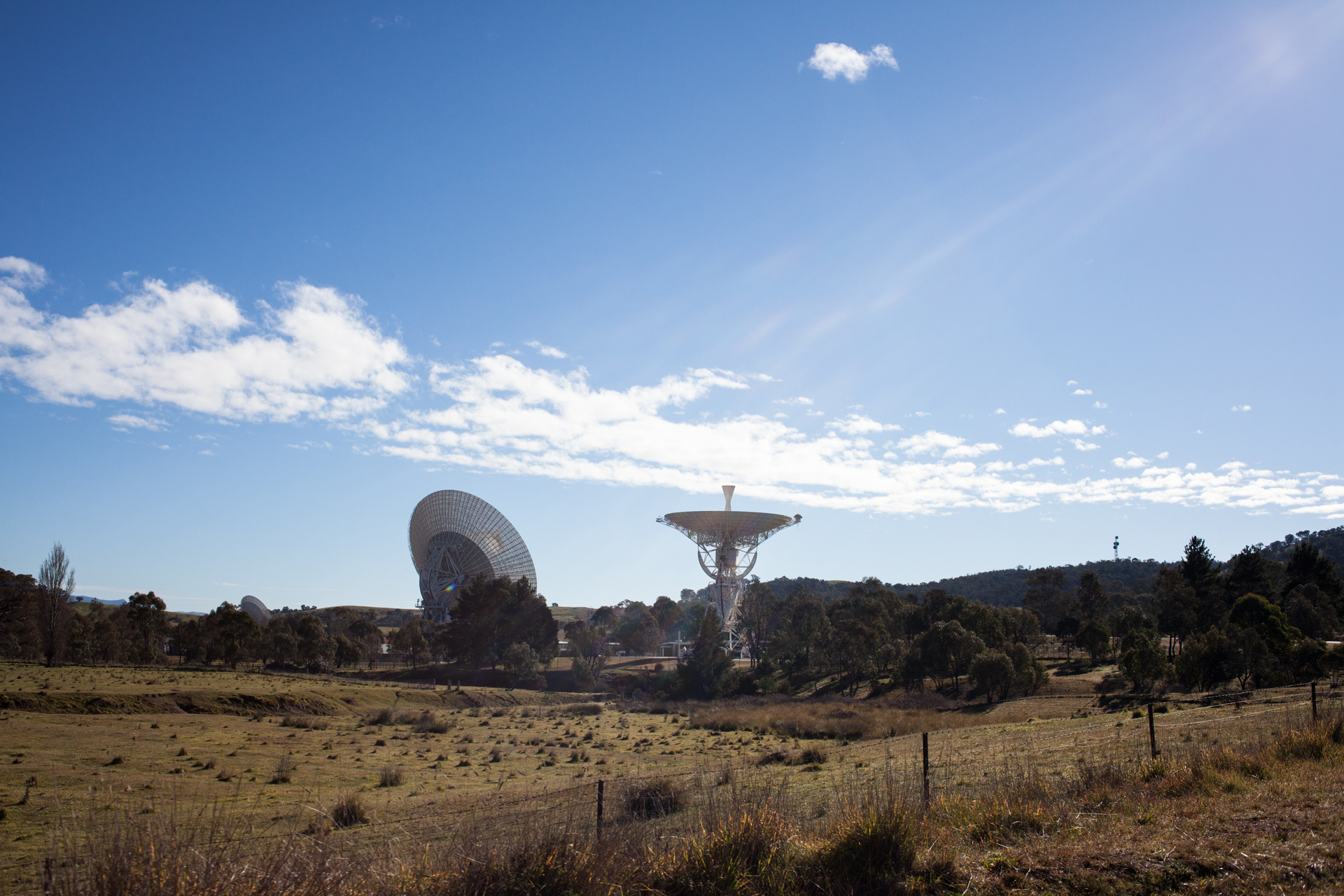 Yes, this is NASA. A station for communication with the outer space.