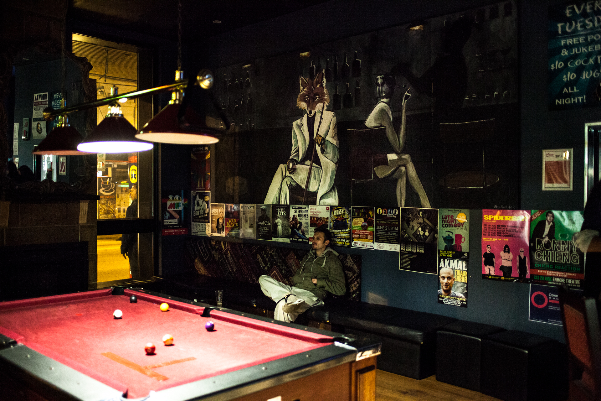Metal music and billiards