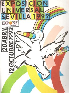 Cartel Curro Expo 92