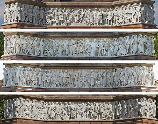 Albert-Memorial-friso-parnaso