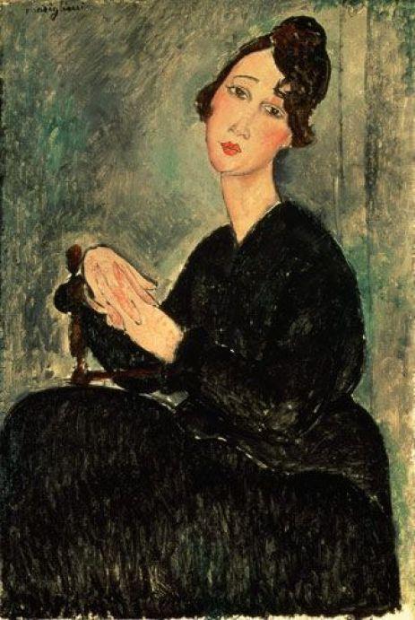 Amadeo Modigliani, Dédie [Odette Hayden], 1918
