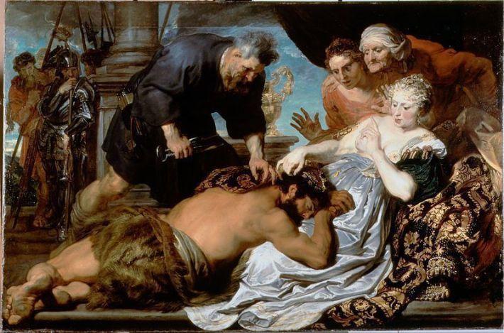 Anton Van Dyck, 1618-1620. Óleo sobre lienzo. 152,3 x 232 cm. Londres, Dulwich Picture Gallery